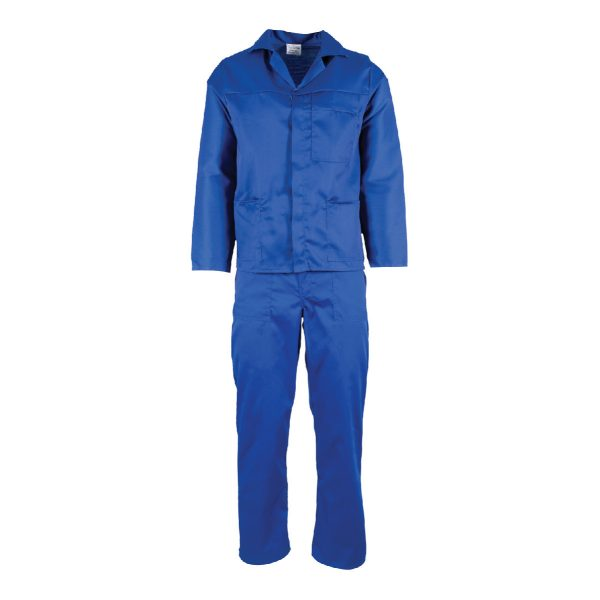 OVERALLS – ROYAL BLUE – 2 PIECE
