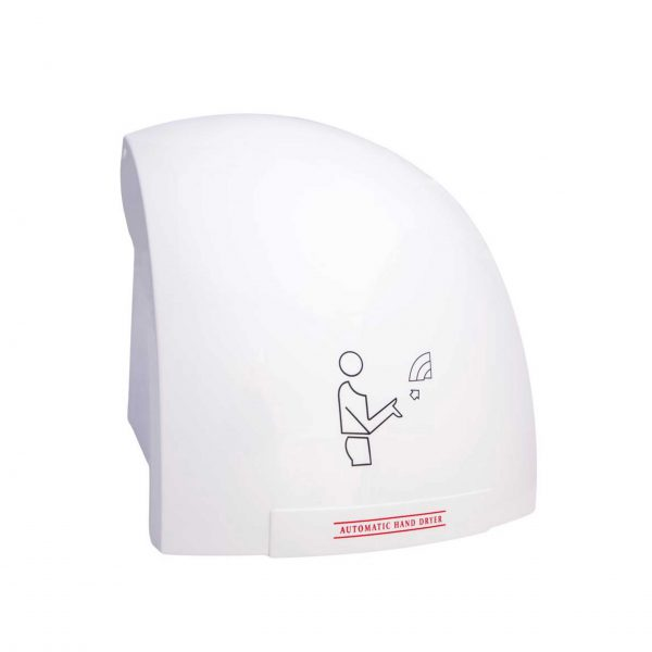 HAND AIR DRYER – POLYCARB – 1.8KW