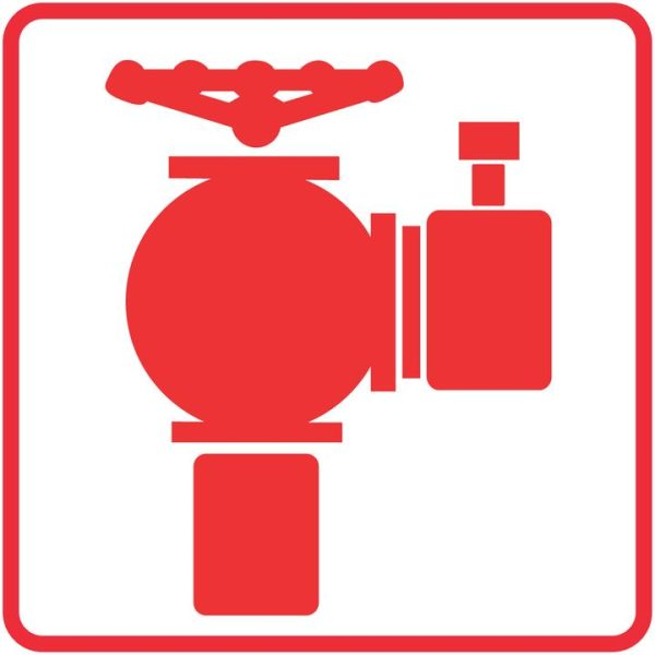 FIRE SAFETY SIGNS – FIRE HYDRANT SIGN