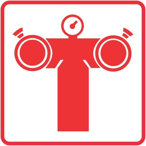 FIRE SAFETY SIGNS – FIRE PUMP CONNECTION SIGN