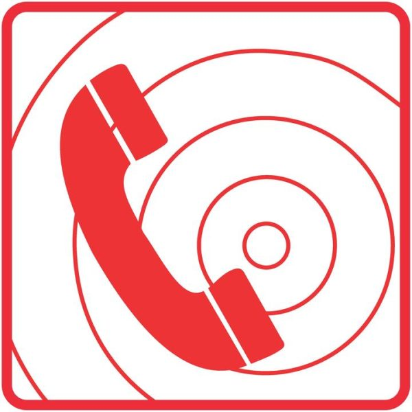 FIRE SAFETY SIGNS – FIRE TELEPHONE SIGN
