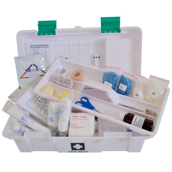 FIRST AID KIT – FACTORY PLASTIC SUITCASE – FILLED