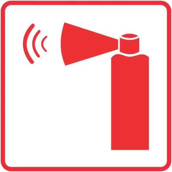 FIRE SAFETY SIGNS – HAND HELD EMERGENCY ALARM SIGN