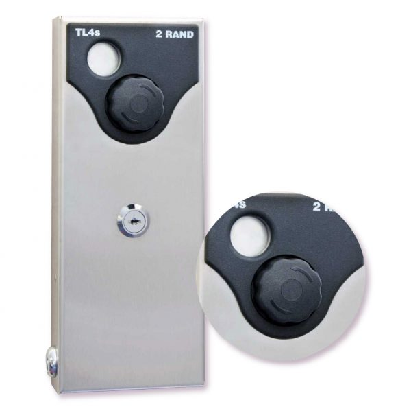 TOILET COIN LOCK WITH NIGHT LATCH
